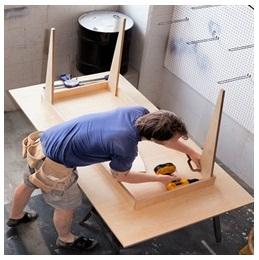 Сборка столов по низким ценам в Пушкино от специалистов