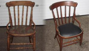 Перетяжка стульев на дому недорого в Пушкино