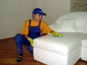 Чистка мебели на дому в Пушкино